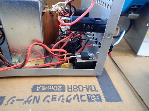 HOパワーパックに保護回路を新設しました。