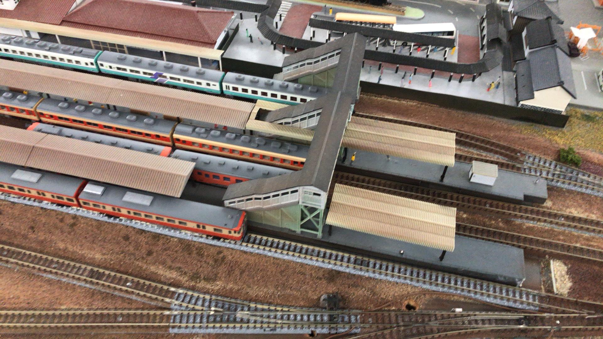 ノスタルジーやキハ52などの列車の走行がスムーズかを確認しました。