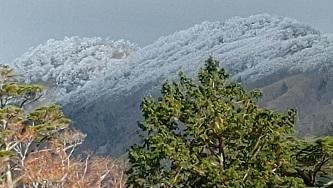 大峰奥駆道冠雪