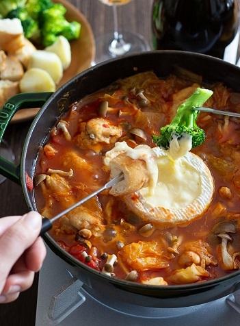 Bトマトチーズ鍋
