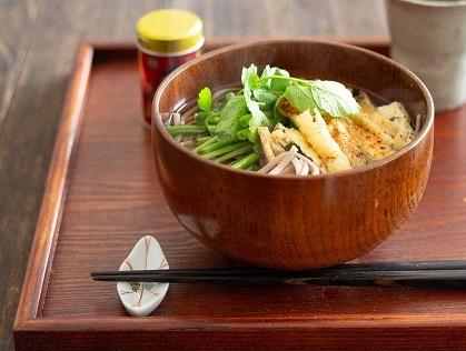 Bセリ蕎麦