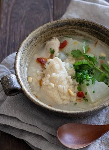 B手羽先の参鶏湯風スープ21