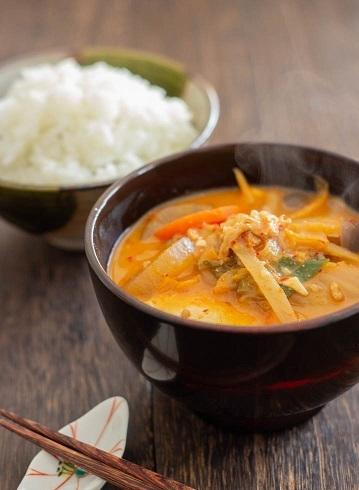 B豚キムチ粕味噌汁6