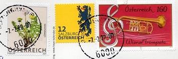 切手7  オーストリア