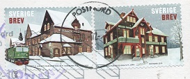 切手4  スウェーデン