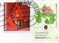 切手25  オランダ