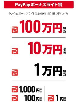 paypayくじ19102602