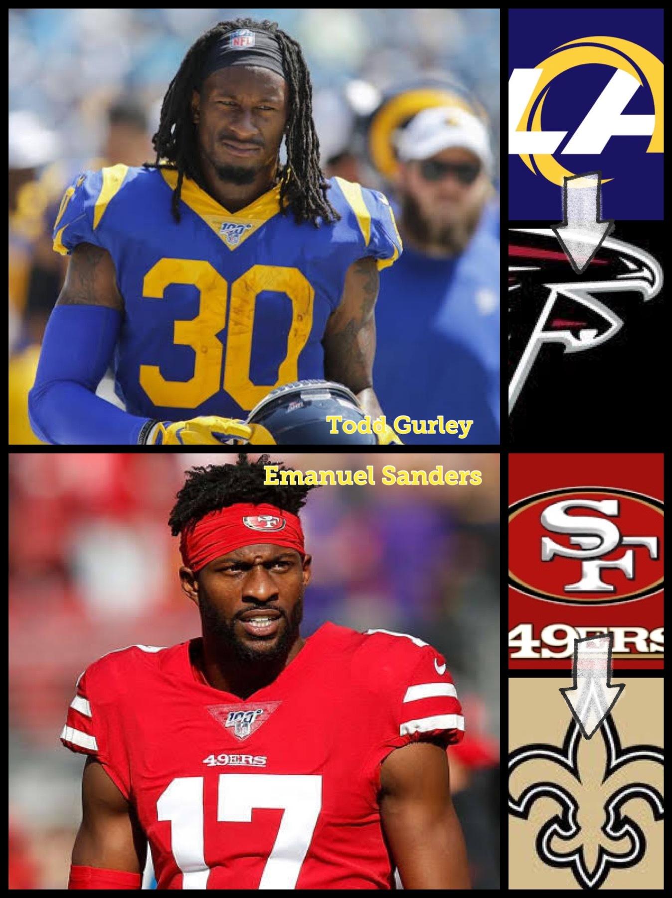 NFL exiting NFC South division 2020 saints