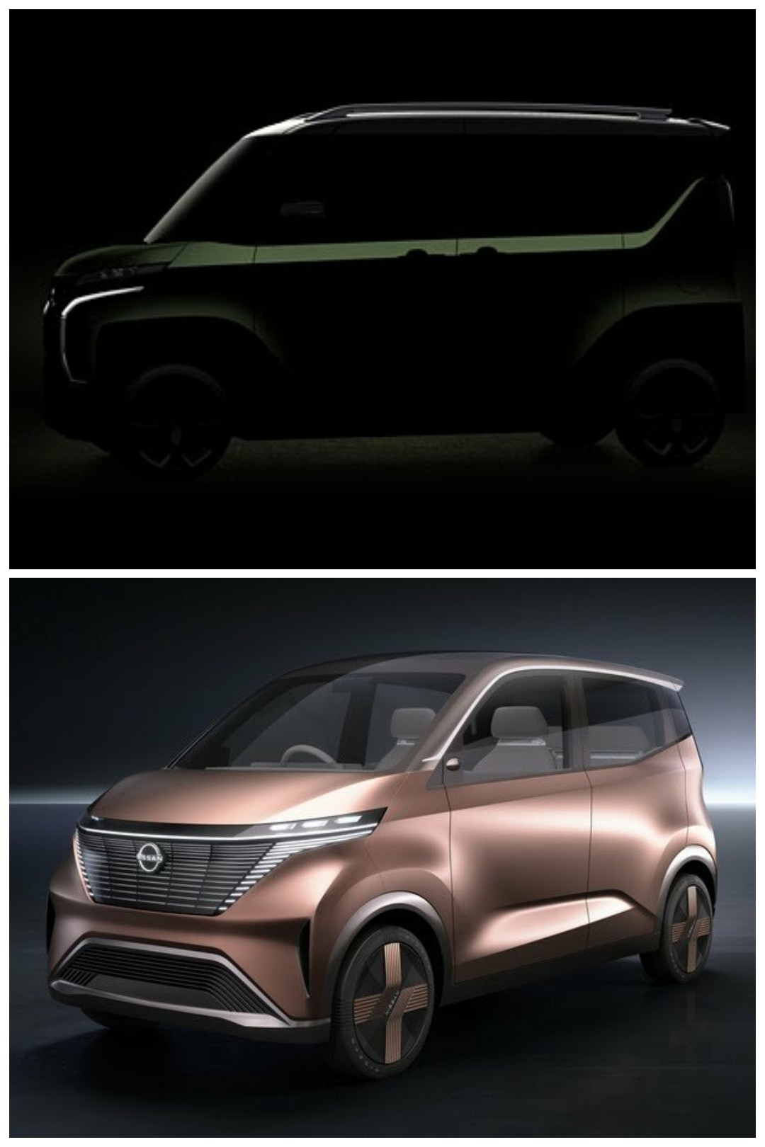 三菱 super hight k-wagon concept 日産 IMk