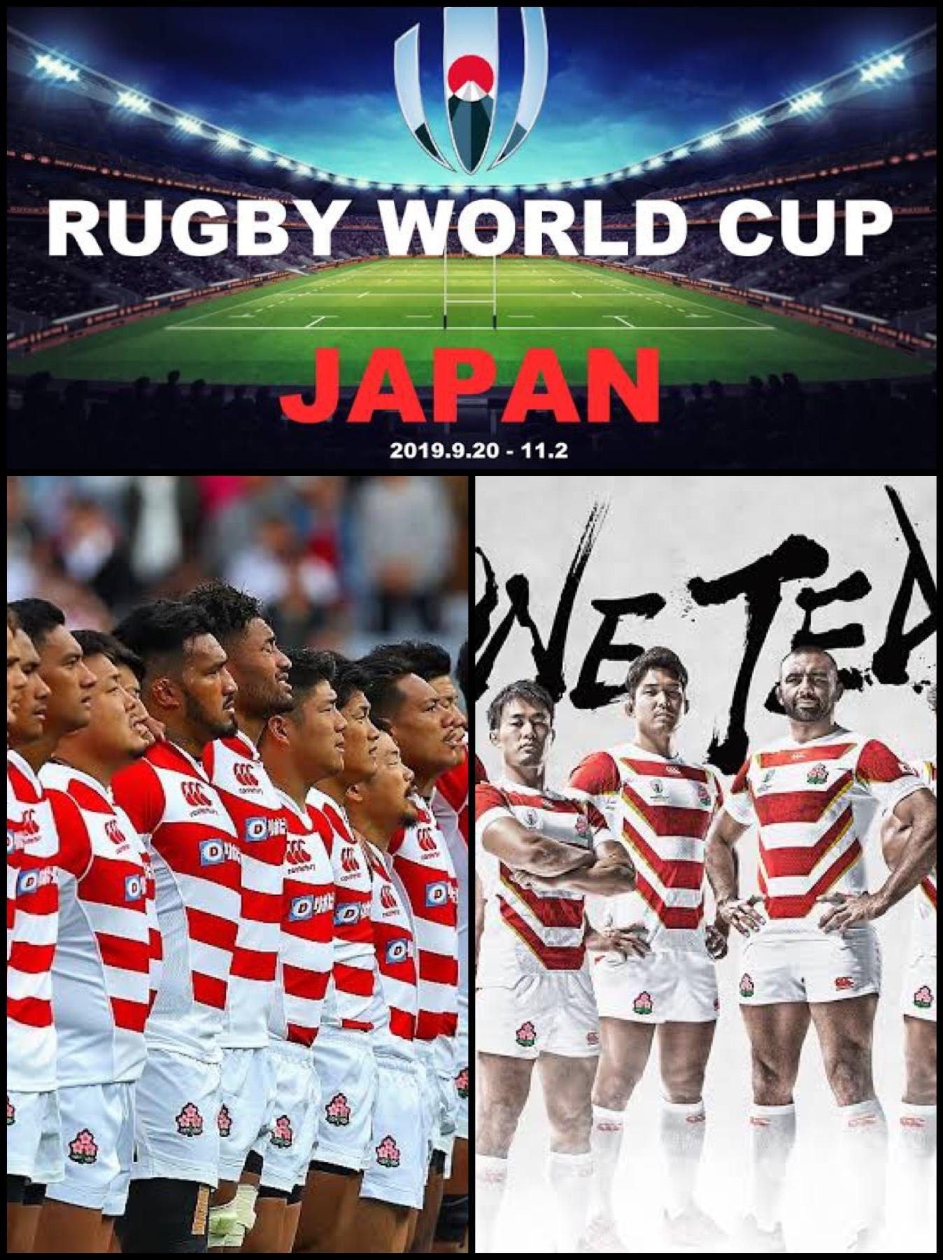 ラグビー日本代表 ワールドカップ2019