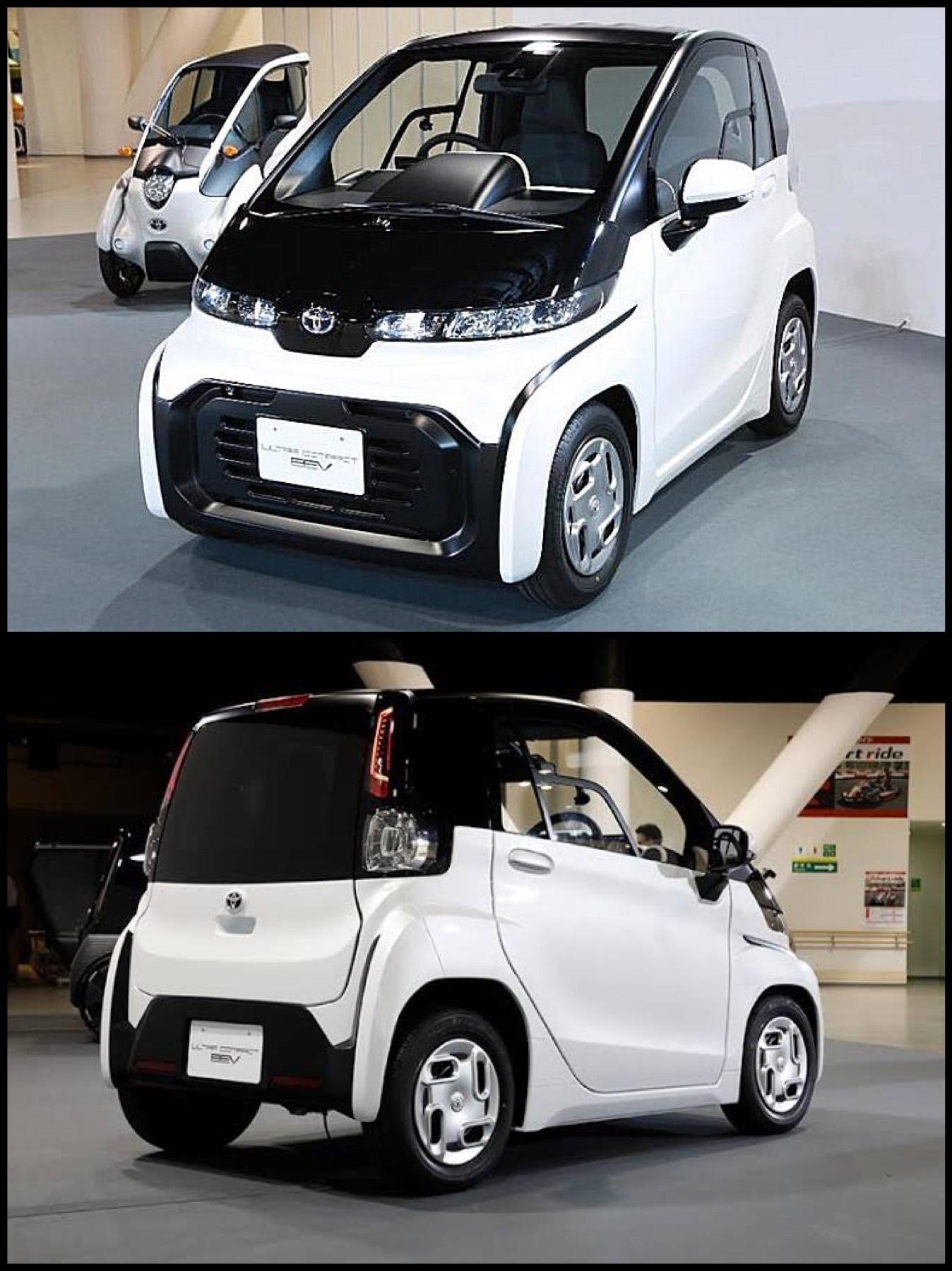 小型 ev トヨタ