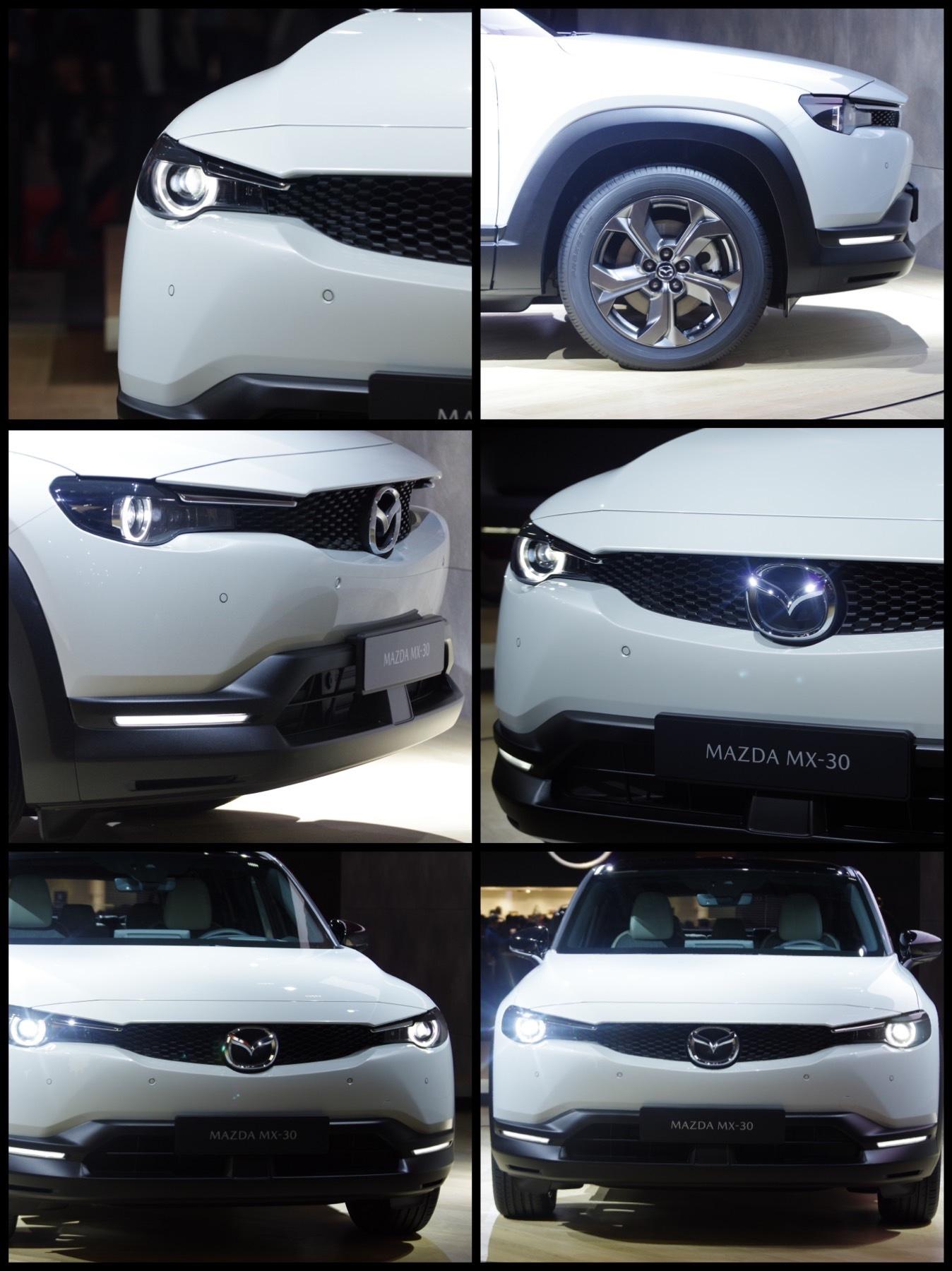 マツダ初の量産電気自動車「MX-30」東京モーターショー2019
