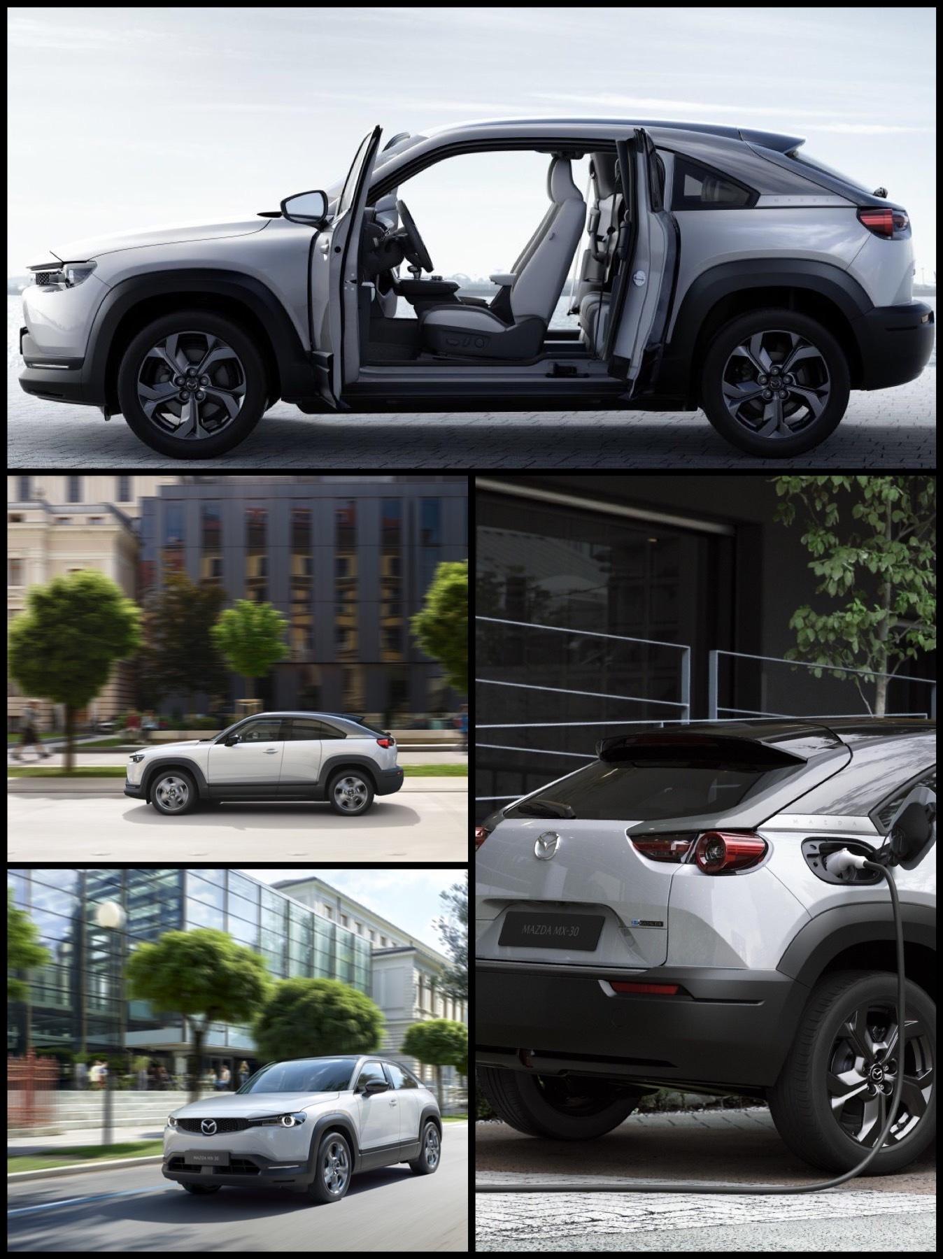 マツダ初の量産電気自動車「MX-30」