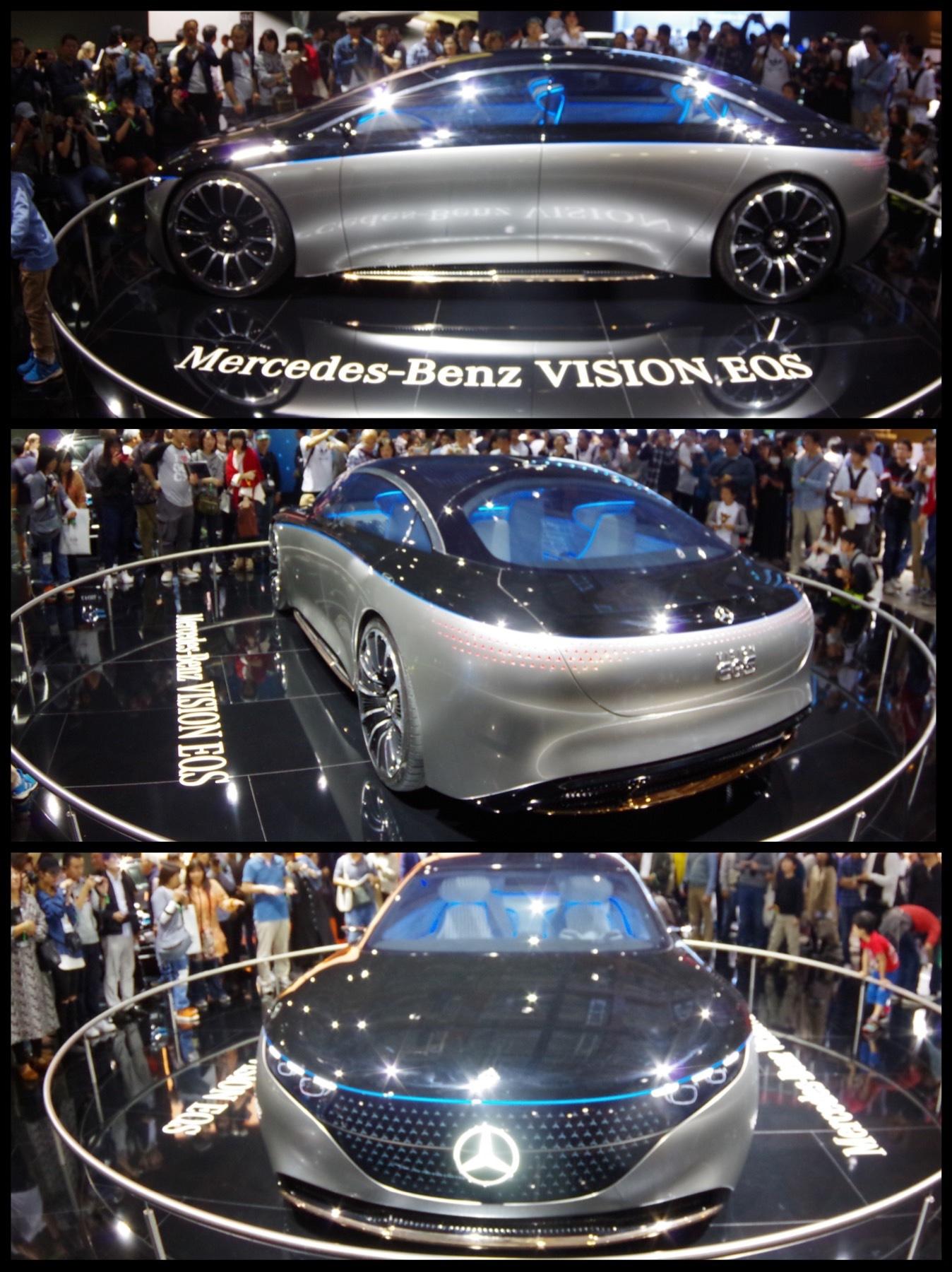 メルセデスベンツ『ヴィジョンEQS』東京モーターショー2019