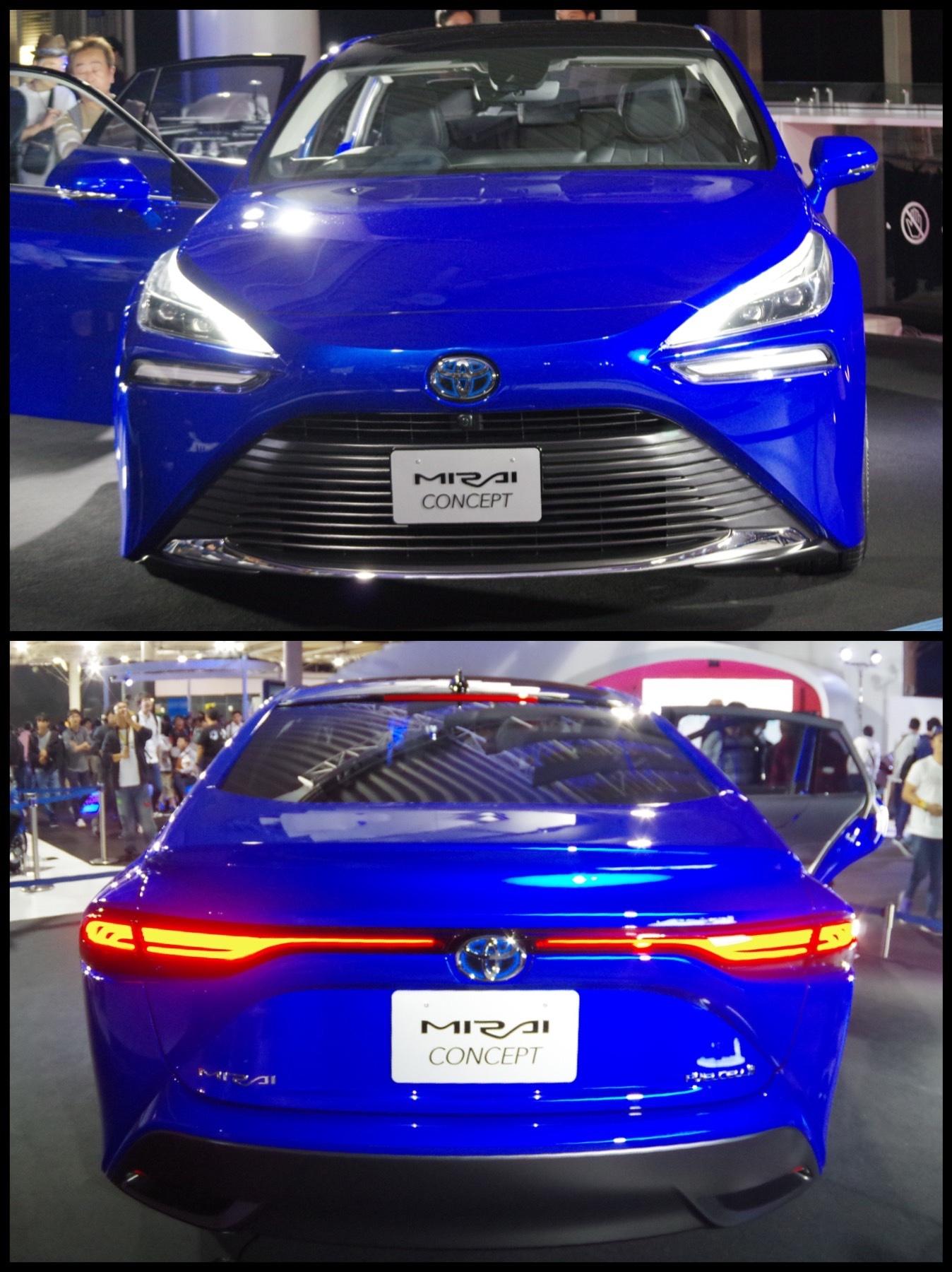 東京モーターショー2019 トヨタ新型MIRAI