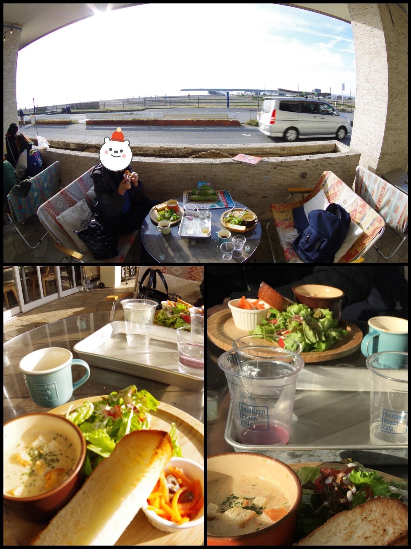 茅ヶ崎 サザンビーチカフェ朝食