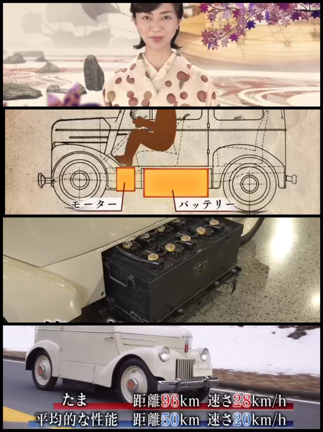 NHK 歴史秘話ヒストリア「走れ!たま 知られざる電気自動車の時代」を見てみた