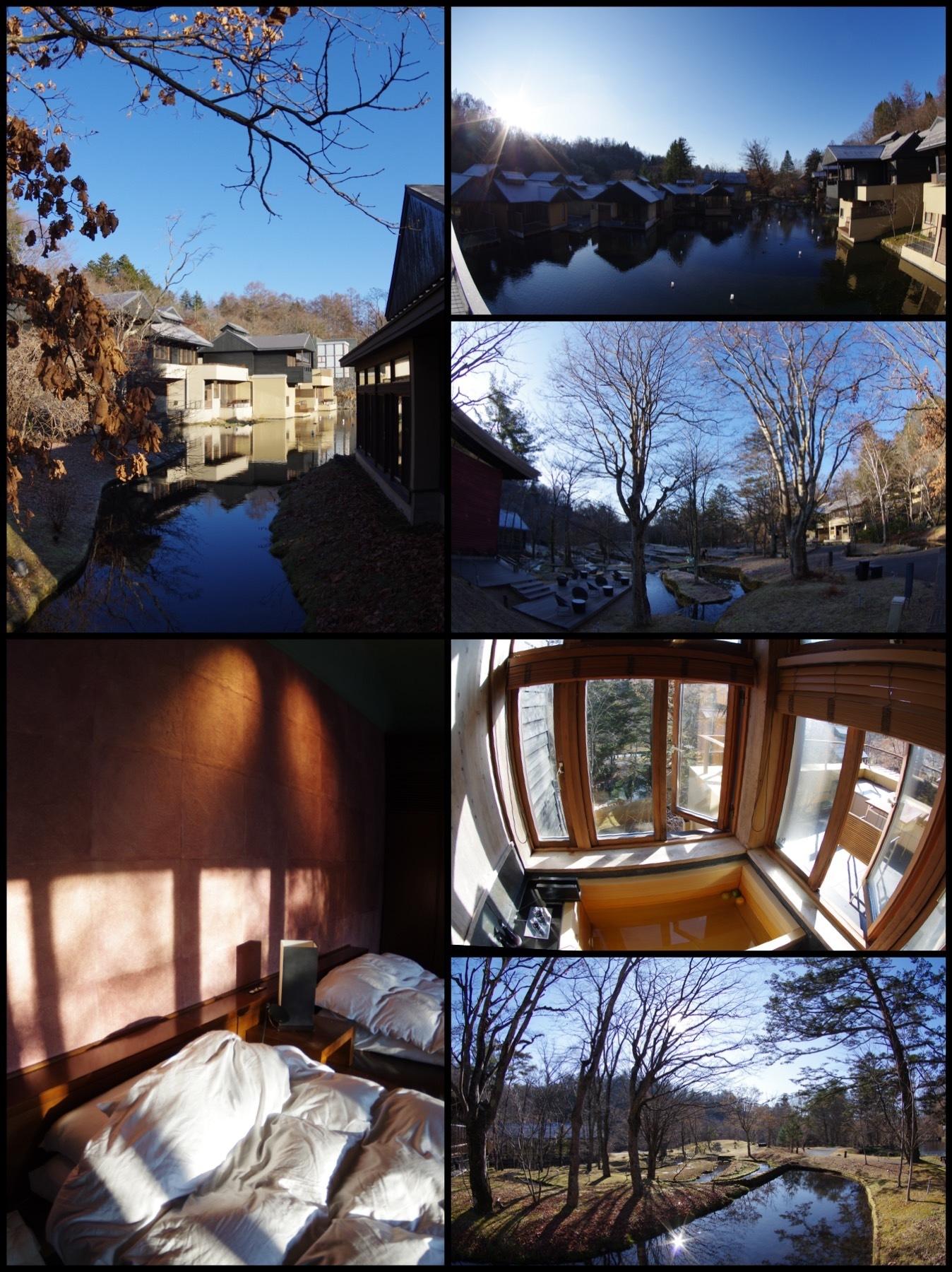 星のや軽井沢 山路地の部屋 宿泊