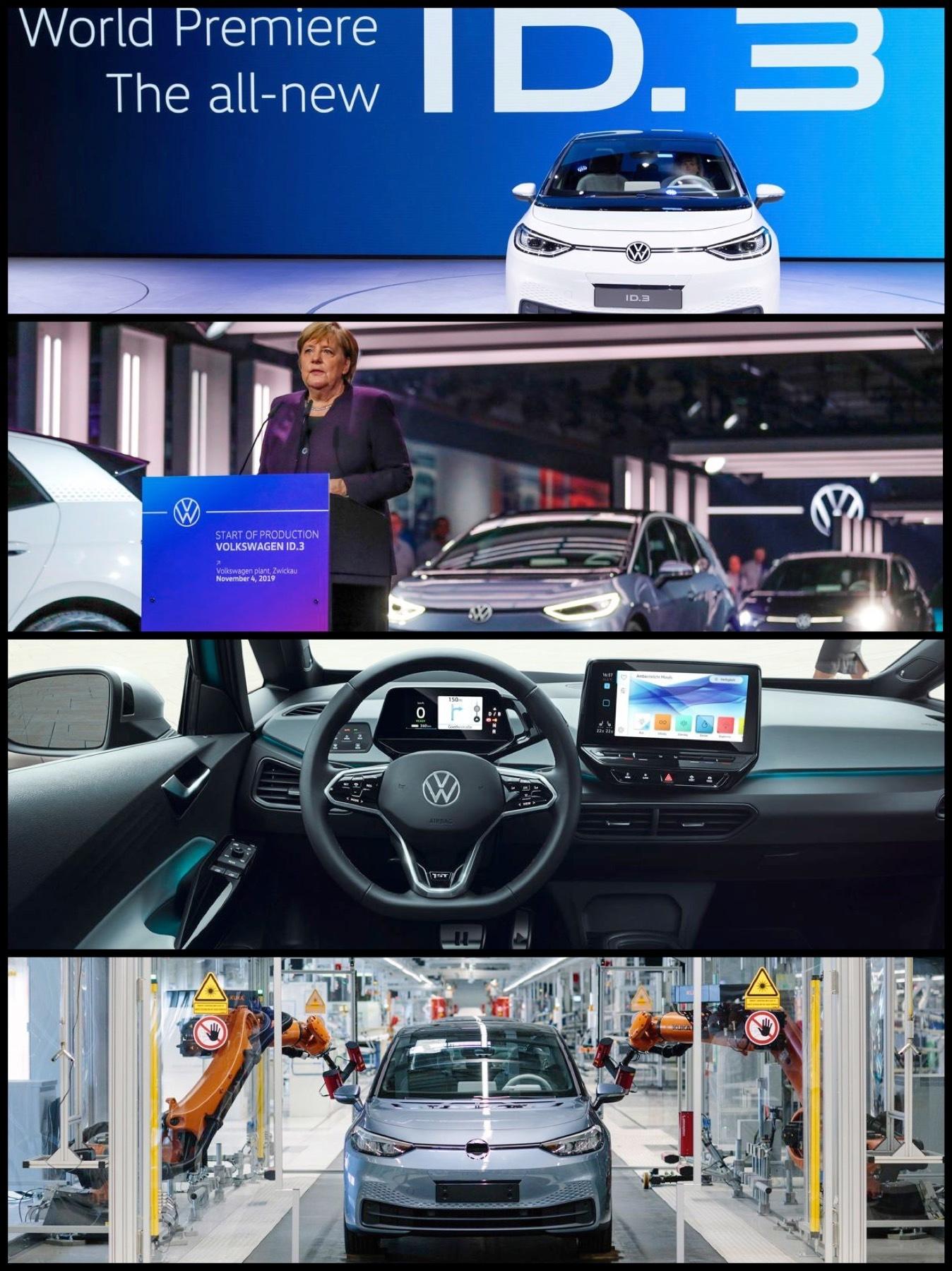 VW ID.3 生産開始発売