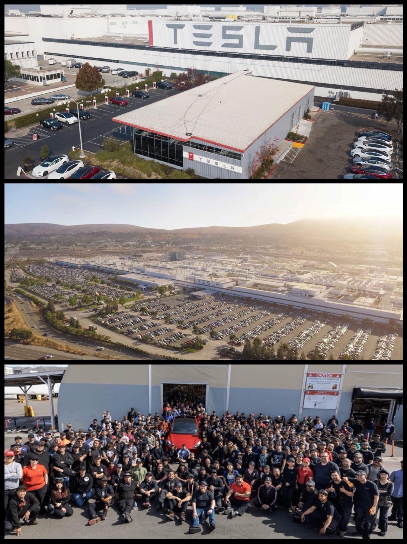 テスラ カリフォルニア工場