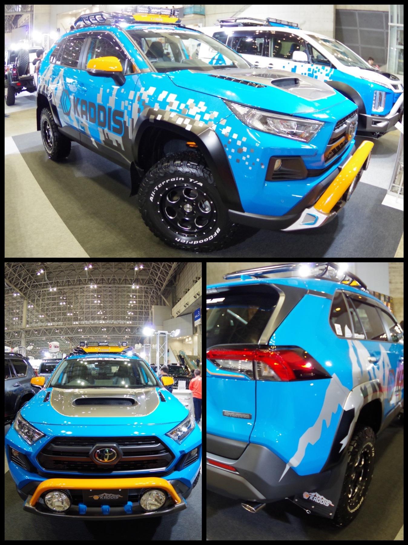 RAV4 カスタムカー by Kaddis エクストリーム 東京オートサロン2020