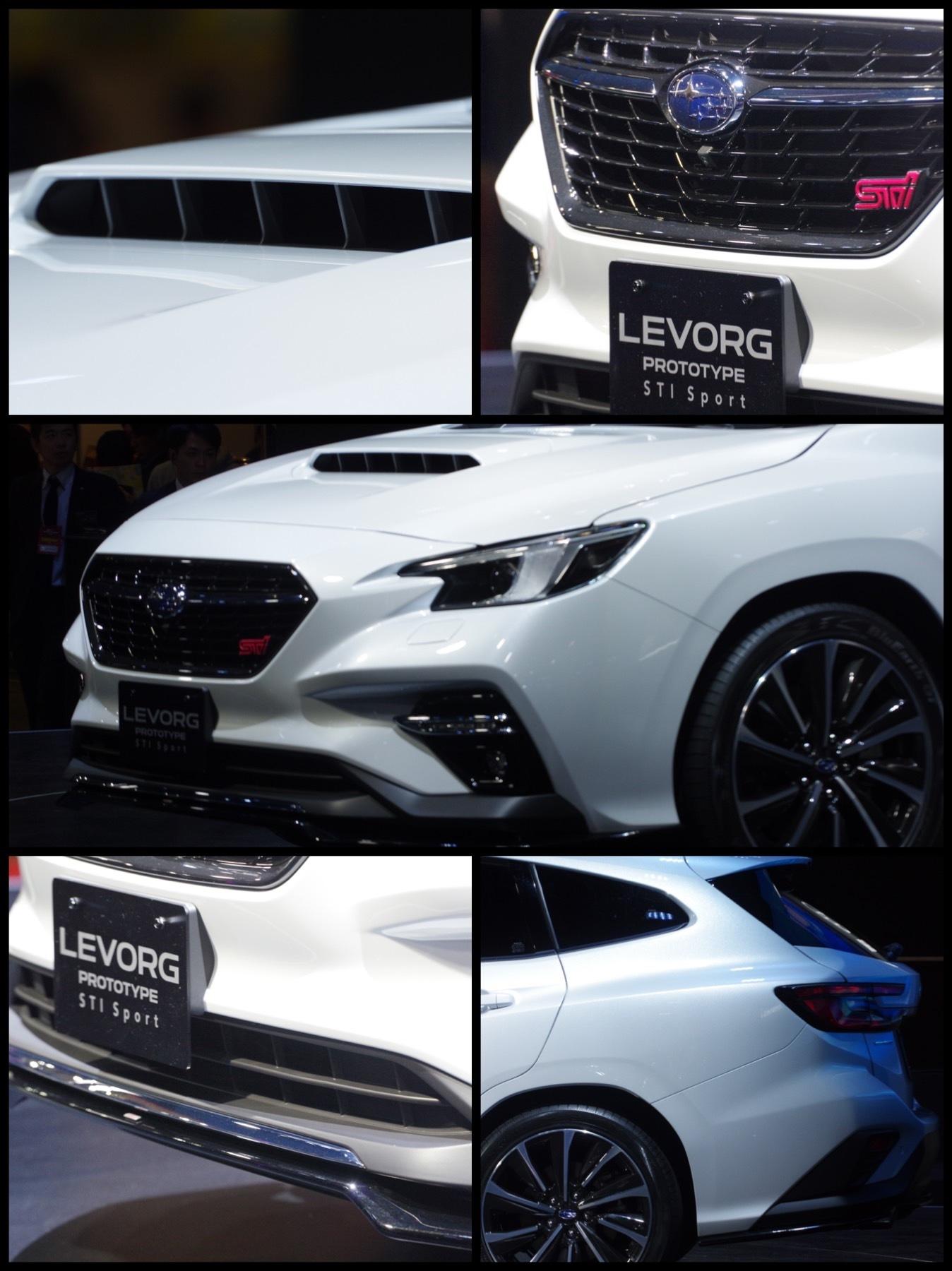 東京オートサロン2020 スバル新型レヴォーグ プロトタイプ STI Sport
