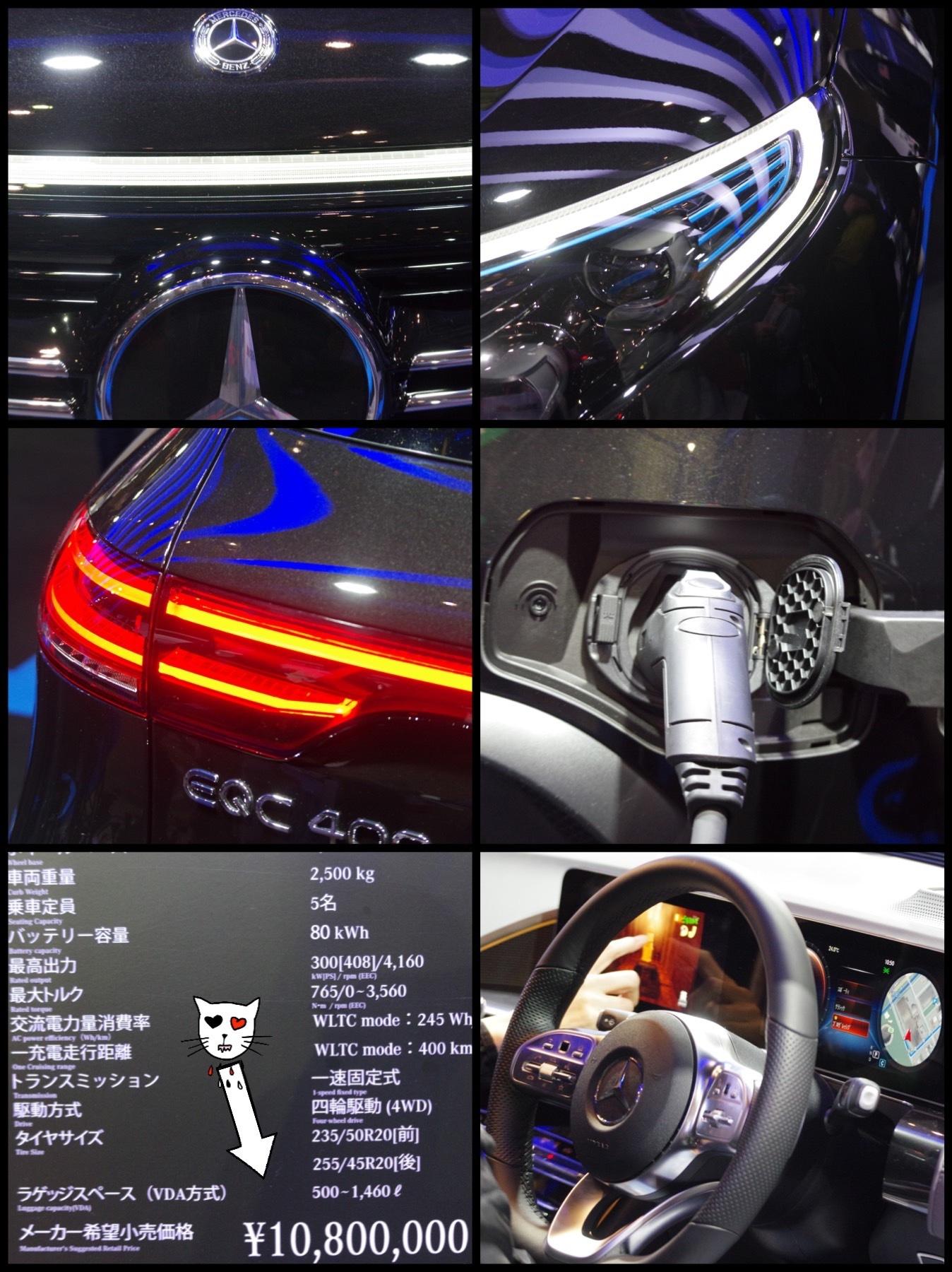 東京オートサロン2020 メルセデス EQC EQ400 4matic