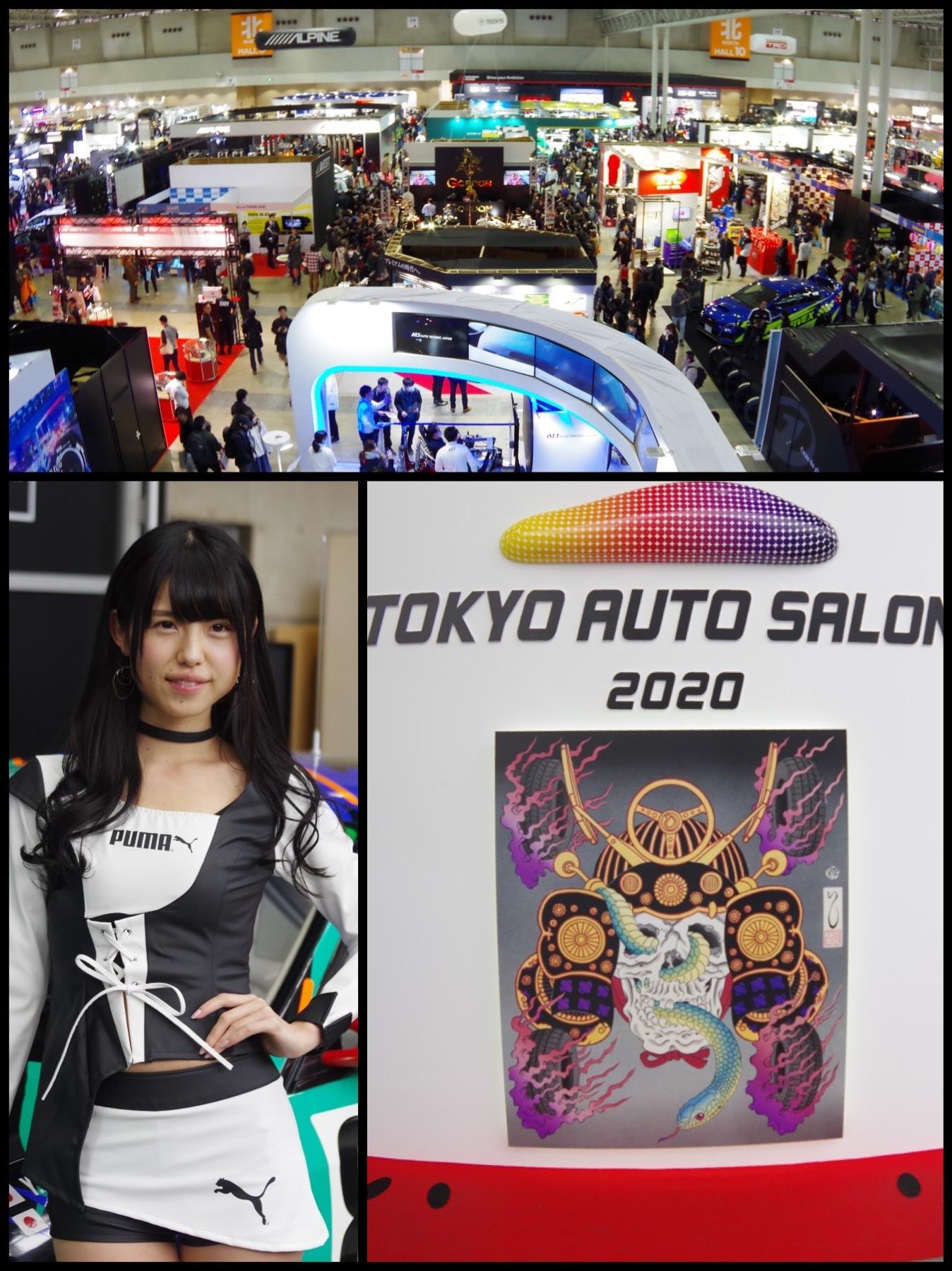 東京オートサロン2020 全体 コンパニオン