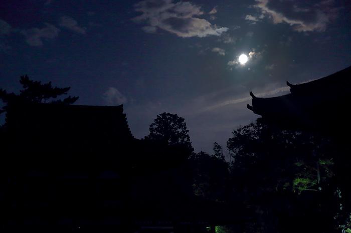 唐招提寺 観月会7