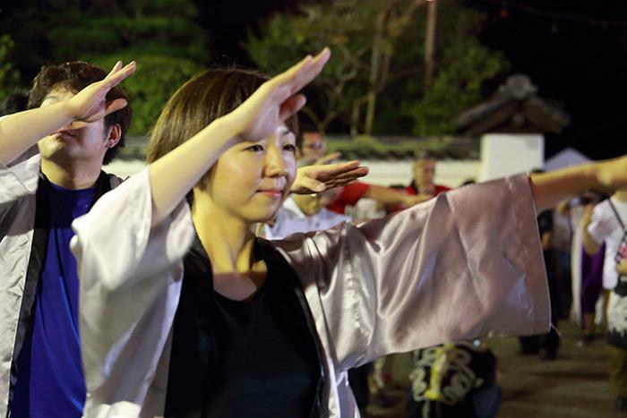 東大寺二月堂 十七夜盆踊り3
