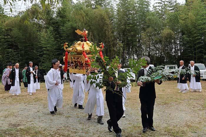 笠山荒神社 秋の荒神大祭2
