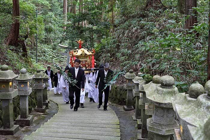 笠山荒神社 秋の荒神大祭3