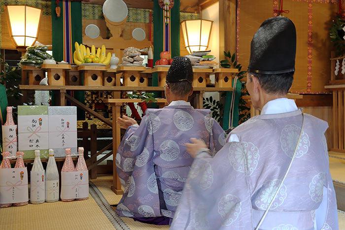 笠山荒神社 秋の荒神祭6