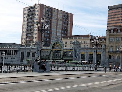 スペイン中東199ビルバオコンコルディア駅