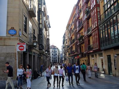 スペイン中東206ビルバオ旧市街