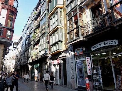スペイン中東208ビルバオ旧市街