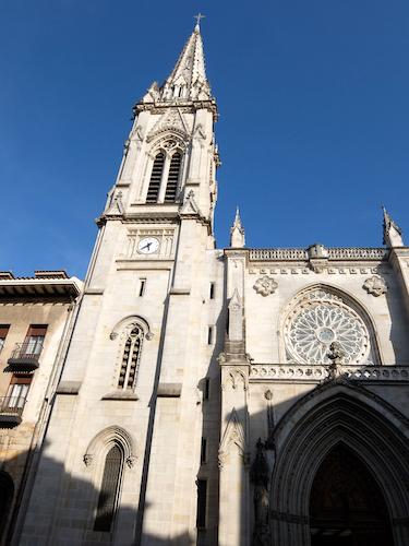スペイン中東211ビルバオサンティアゴ大聖堂