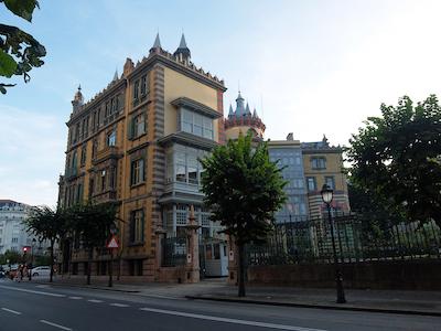 スペイン中東218ビルバオZチャバリ宮殿