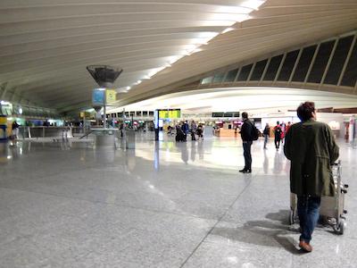 スペイン中東224ビルバオ空港