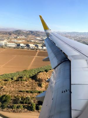 スペイン中東229マラガ空中