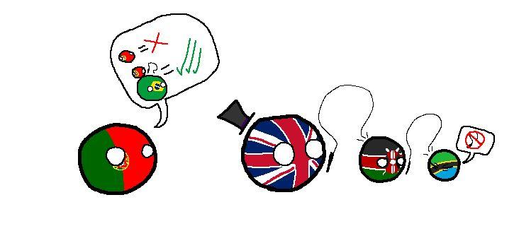 【ポルトガル】嫉妬【ポーランドボール】