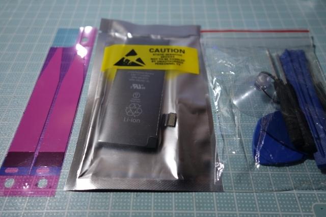 iPhone5S電池交換 (17)