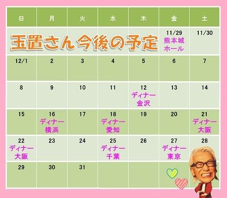 玉チャン年末カレンダー2019