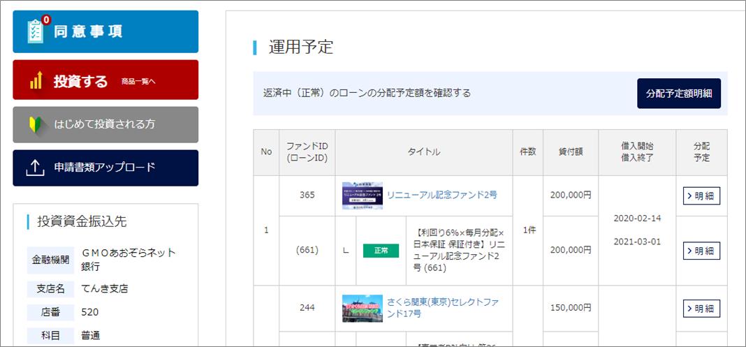 02SAMURAI Fund20万円投