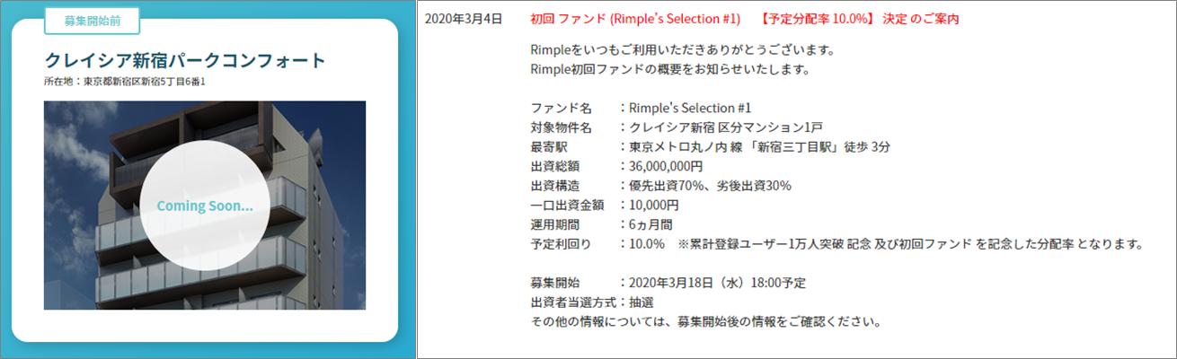 Rimple1号案件