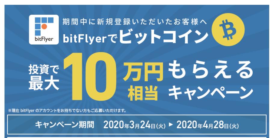 クラウドクレジット_ビットコイン10万円プレゼント