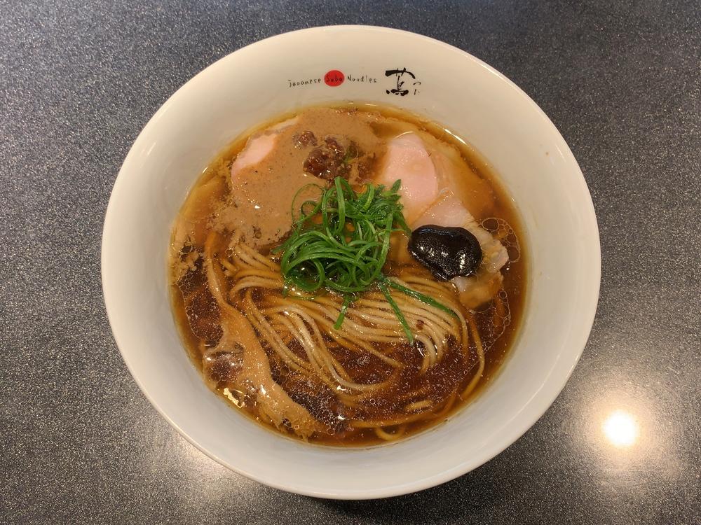 Japanese Soba Noodles 蔦 -- 醤油Soba