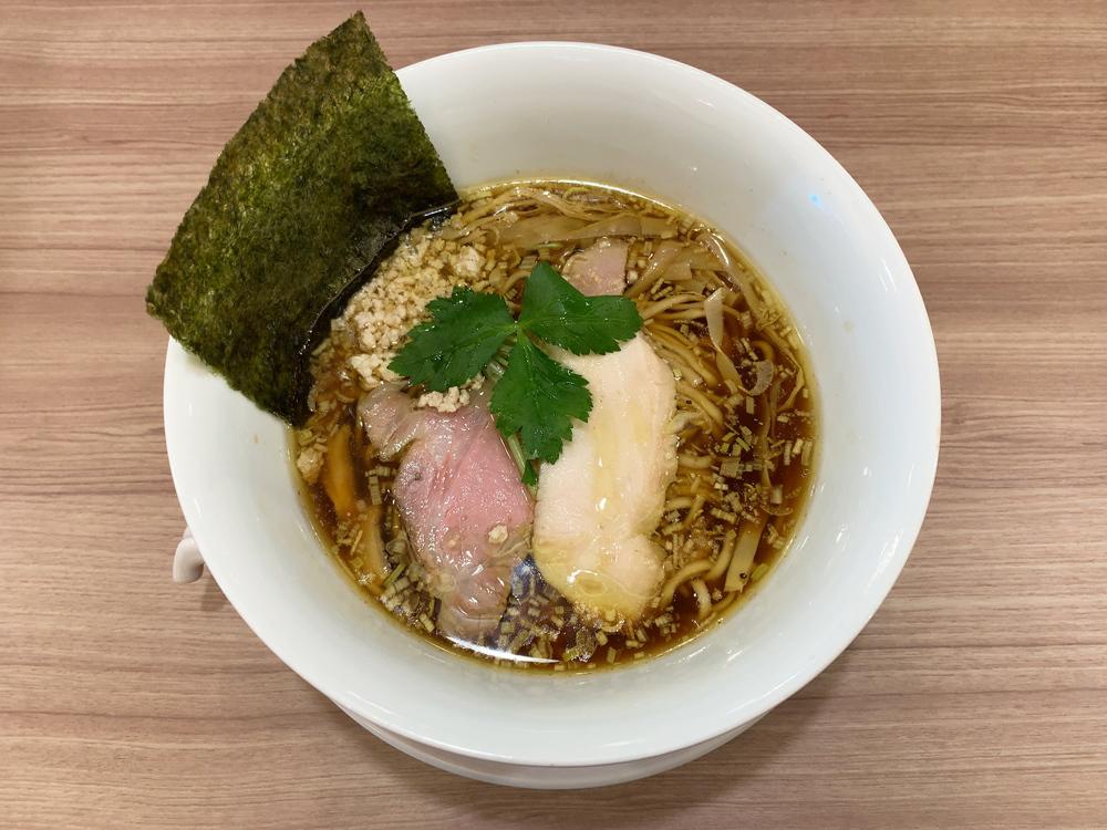 中華そば ムタヒロ 拝島駅店 -- 醤油鶏そば