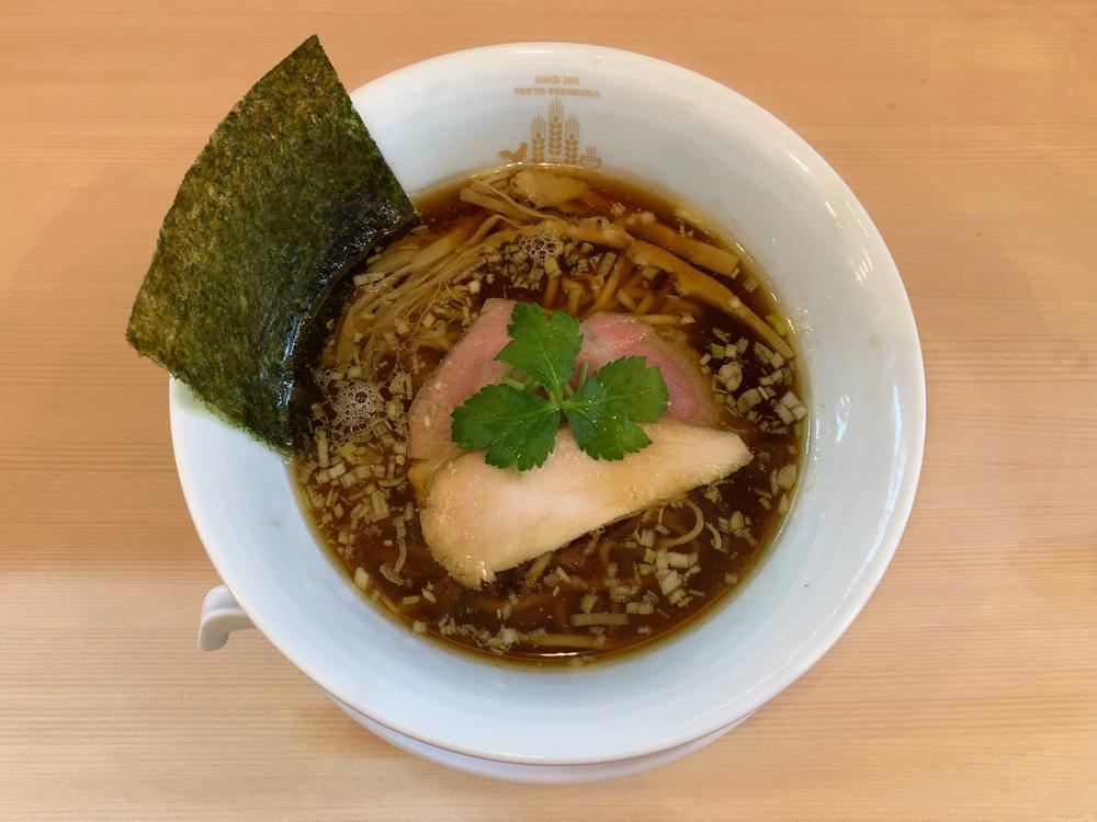 鶏そば ムタヒロ 花小金井店 -- 醤油鶏そば
