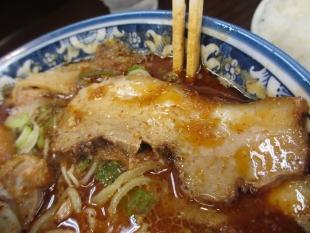 西のあんまる 魚辛味噌ラーメン チャーシュー
